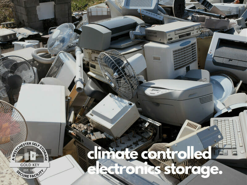 climate controlled electronics storage Bedford