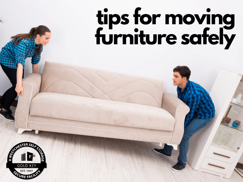 tips for moving furniture Chappaqua Self Storage