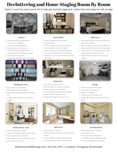 Decluttering and Home Staging Solutions at Tarrytown Self Storage